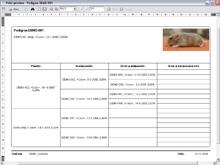 Create hamster pedigrees